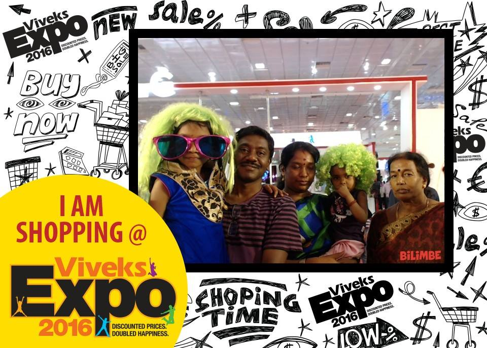 Free Photo Booth at Viveks Expo 2016