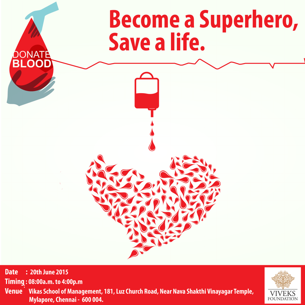 Give the Gift of Life. Donate Blood!