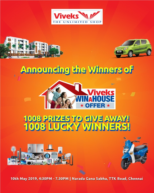 Viveks Recognises Its Customers' Value & Loyalty