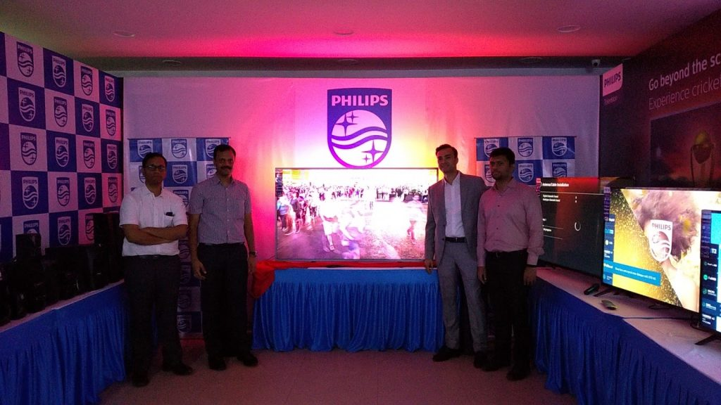 Viveks becomes the exclusive dealer for Philips Ambilight TV in Tamil Nadu TPV (Product Release)