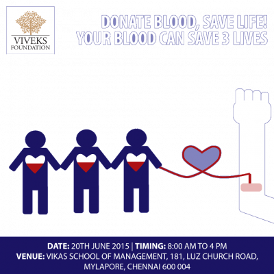 Viveks Blood Donation Camp